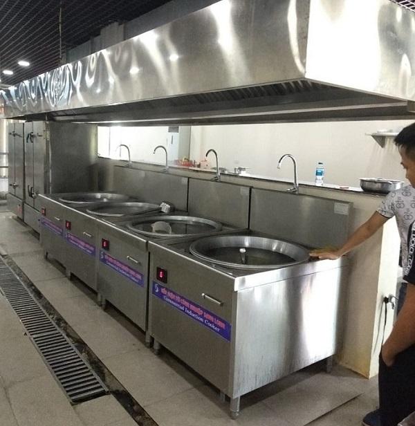 bếp từ công nghiệp chảo 800 - 900mm