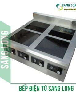 Bếp từ công nghiệp 4 x 5 kw