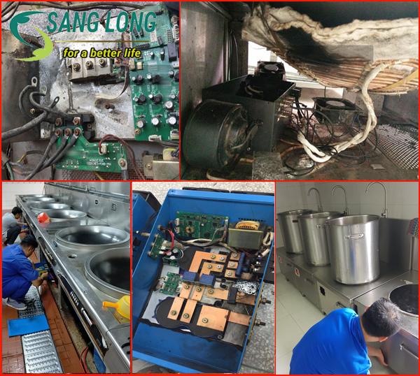 Công ty sửa chữa bếp từ công nghiệp