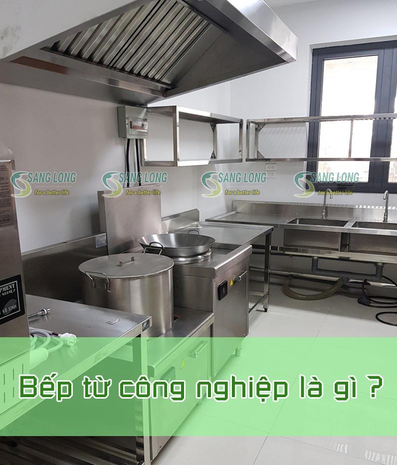 chi tiết về bếp từ công nghiệp
