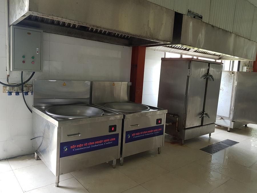 Bếp từ công nghiệp dùng cho công ty