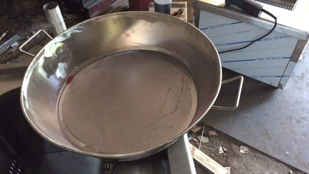 Chảo bằng dùng với bếp công nghiệp bằng