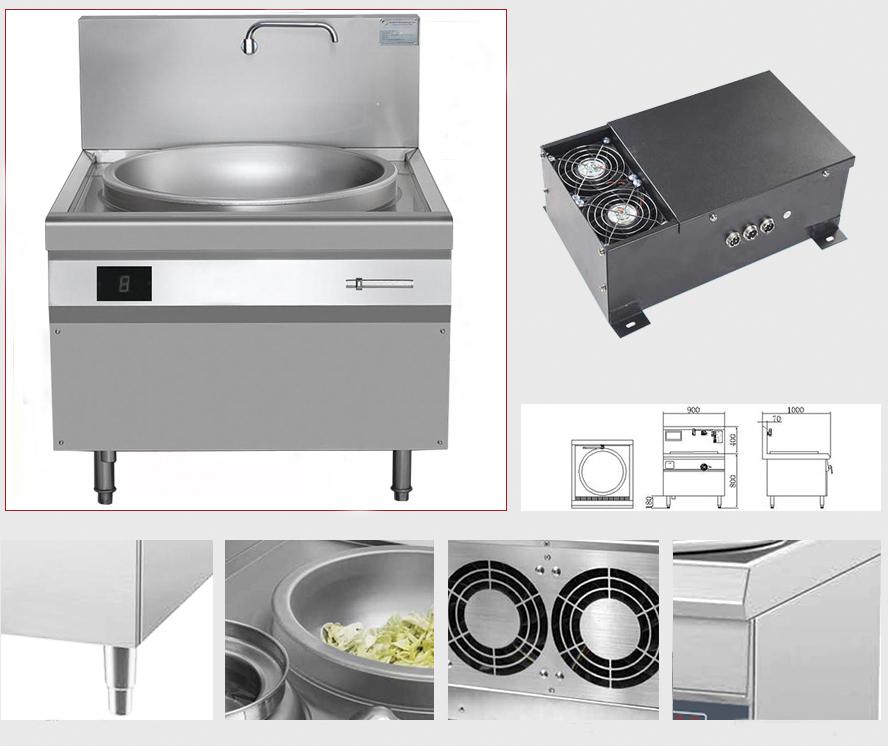 Phân loại và ứng dụng của bếp từ công suất lớn