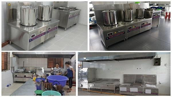 Bếp từ công nghiệp với 7 lớp bảo vệ an toàn và ổn định hơn