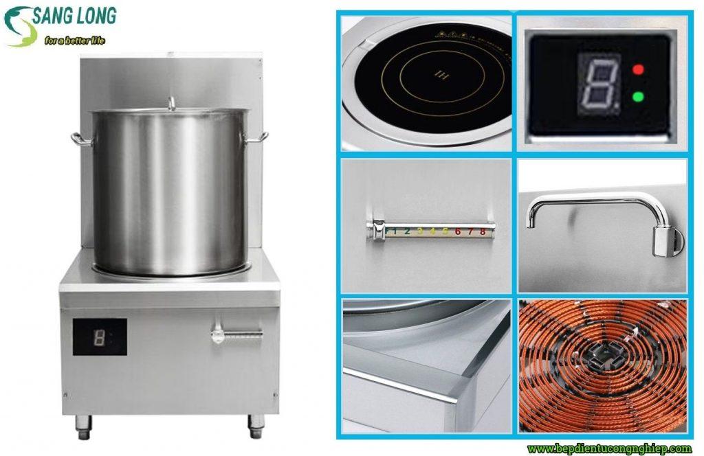 Ưu điểm của bếp từ công nghiệp trong các bếp ăn trường học