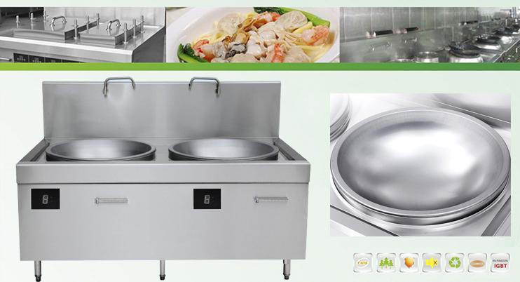 Bếp từ công nghiệp xu hướng tương lai