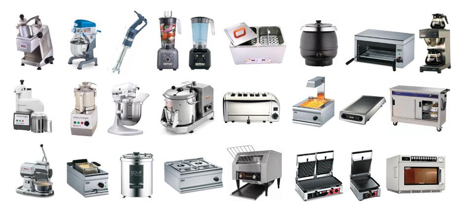 Danh sách đầy đủ của các thiết bị bếp nhà hàng