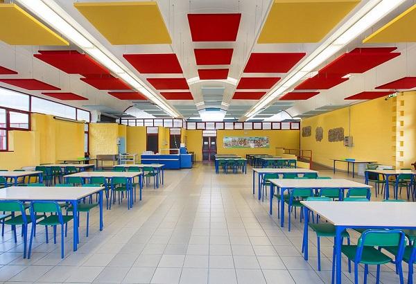 Các tiêu chuẩn thiết kế căng tin trường mầm non cấp quận