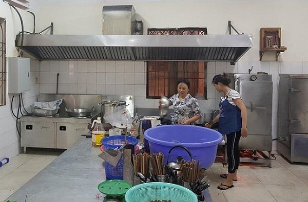 Lắp đặt bếp từ công nghiệp cho công ty Vina Sekyo