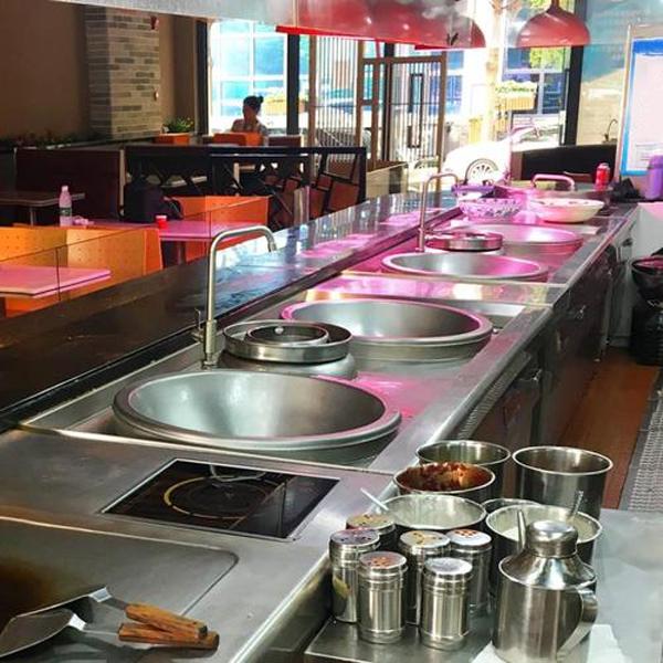 Lắp đặt bếp từ công nghiệp cho nhà hàng Golden Gate Restaurant Group