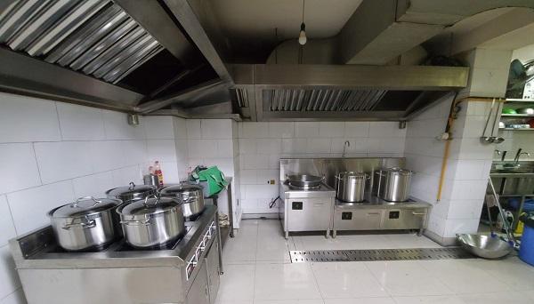 Lắp đặt bếp từ công nghiệp cho ngân hàng Agribank