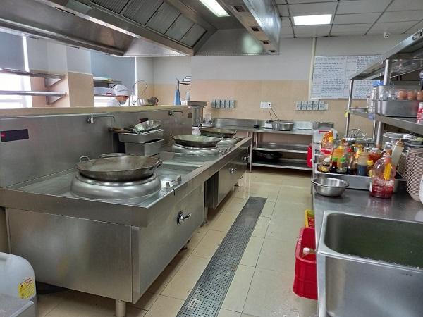 Lắp đặt bếp từ công nghiệp cho Bệnh viện đa khoa Nam Sài Gòn