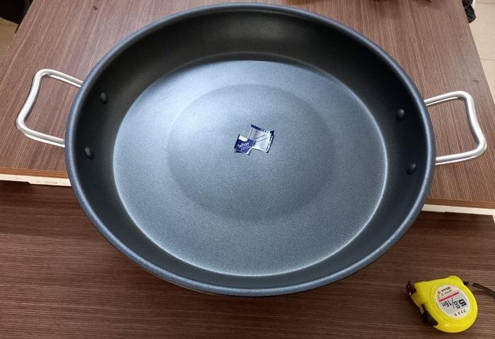 Chảo mặt phẳng 47cm dùng cho bếp từ công nghiệp