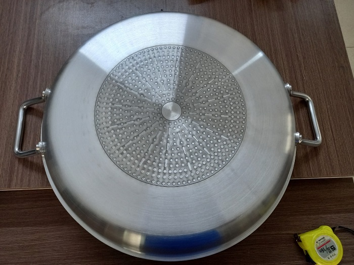 Chảo mặt phẳng dùng cho bếp từ công nghiệp