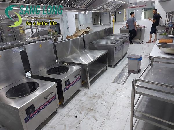 Bếp từ công nghiệp đơn mặt phẳng