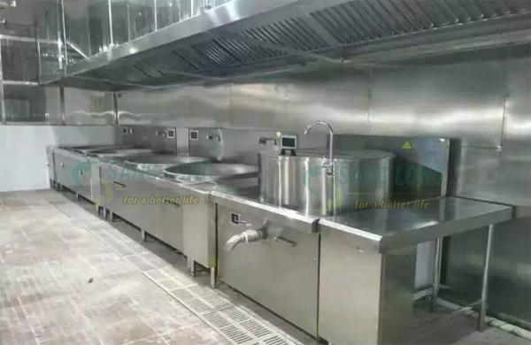 Dự án bếp từ công nghiệp cho TCE VINA DENIM