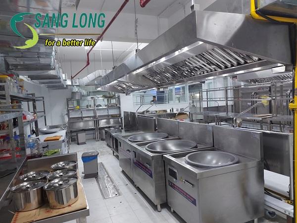 Dự án bếp từ công nghiệp cho Bệnh viện Sản Nhi TWG Long An
