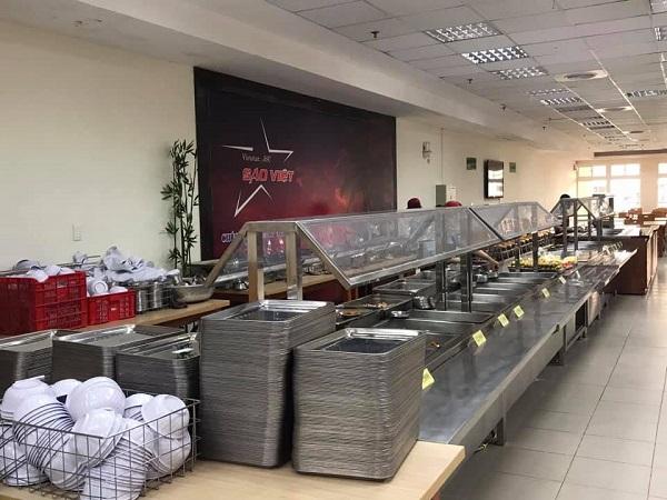 Dự án bếp từ công nghiệp cho công ty Thực Phẩm Sao Việt