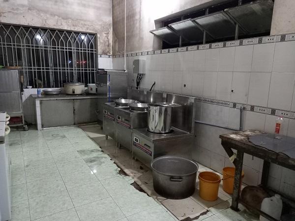 Dự án bếp từ công nghiệp cho BCHQS huyện Nhơn Trạch