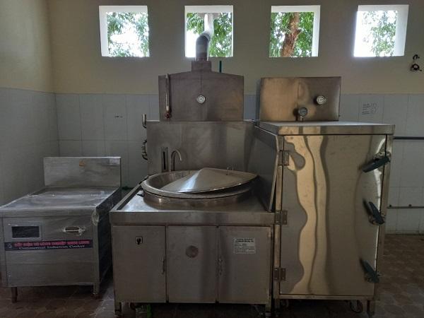 Dự án bếp từ công nghiệp cho Cục Tác chiến Điện Tử