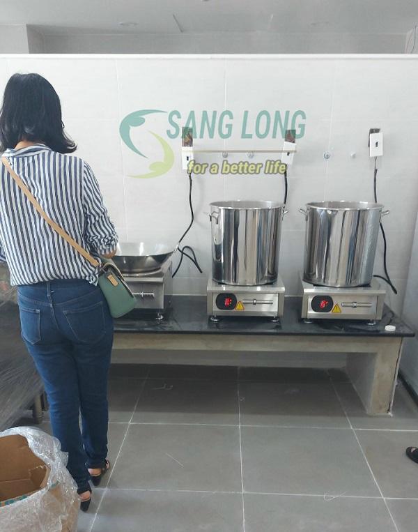 Dự án bếp từ công nghiệp cho Trường mầm non Ngôi Sao