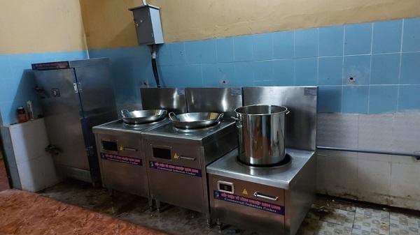 Dự án bếp từ công nghiệp cho BCHQS huyện Thống Nhất