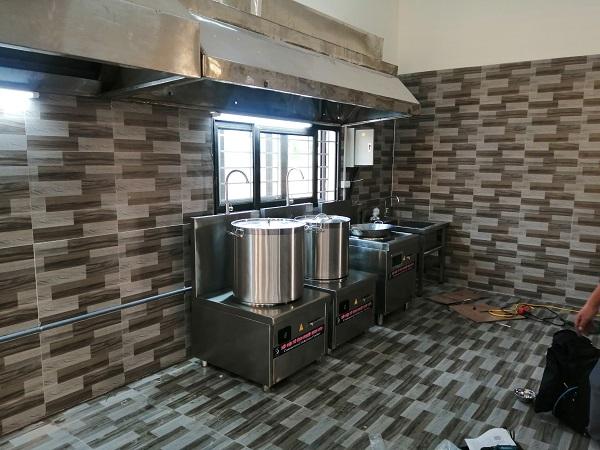 Dự án bếp điện từ cho Trường mầm non Thị Trấn Kim Bài
