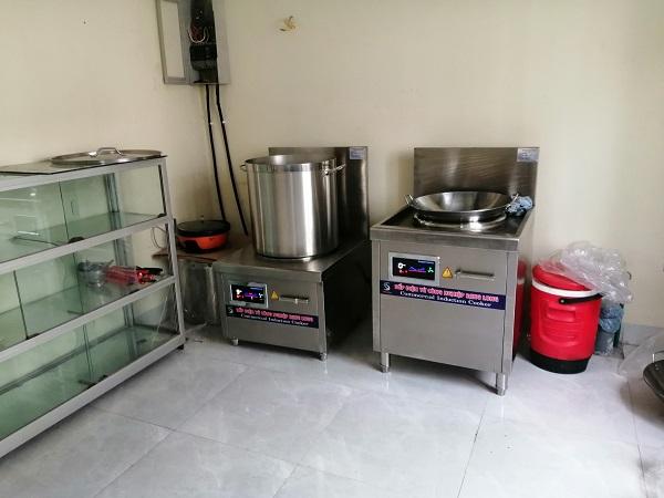 Dự án bếp từ công nghiệp cho công ty Trường Hải