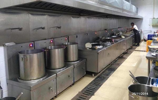 Bếp từ công nghiệp công suất lớn