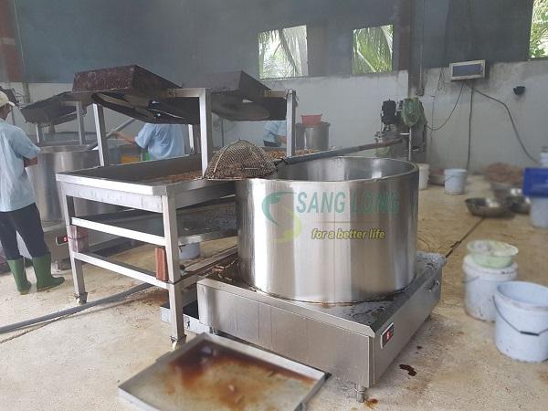 Dự án bếp từ công nghiệp cho Cơ sở sản xuất Chả Cá Thuận