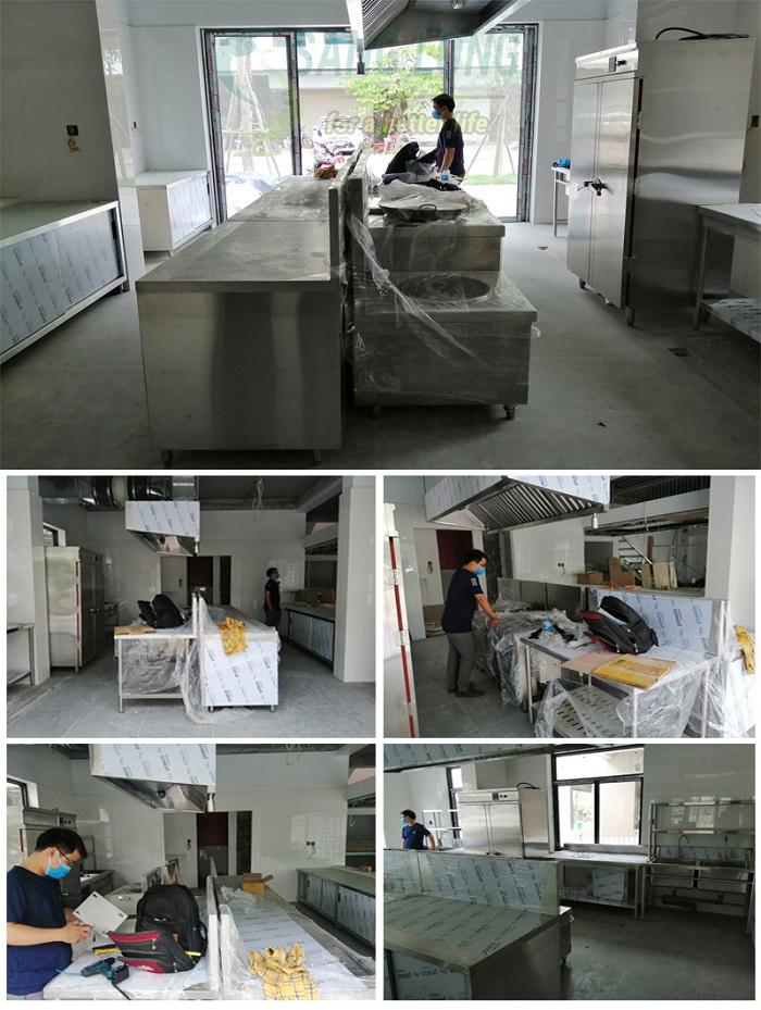 Dự án bếp từ công nghiệp cho trường mầm non ECO