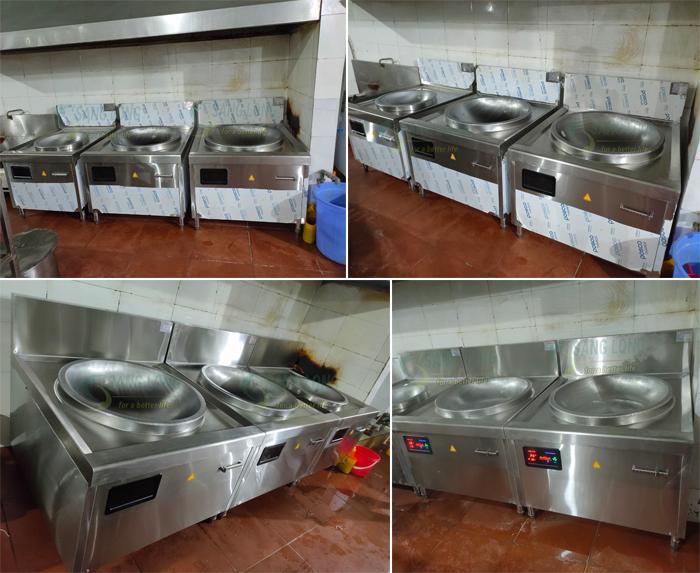 Dự án bếp từ chảo liền cho Suất ăn công nghiệp Vũ Thanh