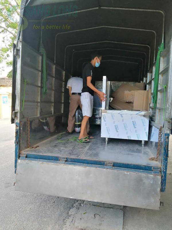 Dự án bếp từ đơn phẳng 12kw cho Công ty Enkei Việt Nam